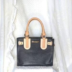 COLETTE by Colette Hayman Black cream & Tan  Handbag